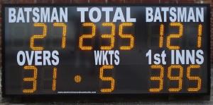 ESU15CL12 electronic cricket scoreboard