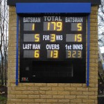 "At Buttershaw St Pauls CC we used  10"" and 12"" digits to allow optimum use of space"