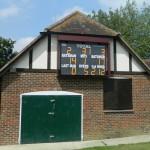Standard electronic cricket scoreboard