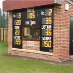 When Darlington's old scorebox was demolished due to redevelopment, club members built the replacement.