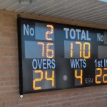 LED Cricket Scoreboard