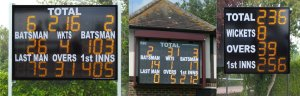 Standard Electronic Cricket Scoreboards