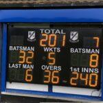LED cricket scoreboard